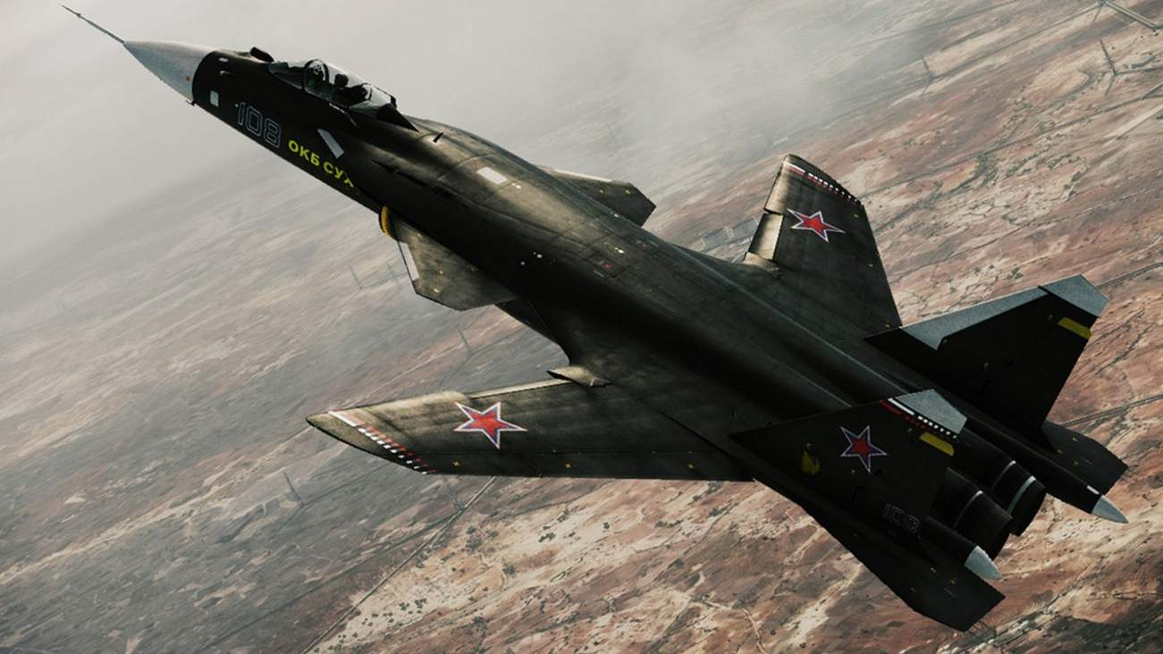 Su-47: This Really Strange Looking Plane Helped Create Russia's Stealth Fighter