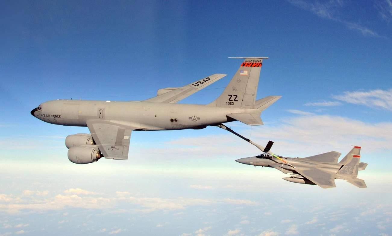The U.S. Air Force Could Transform Old Tankers Into New Command-and-Control Planes