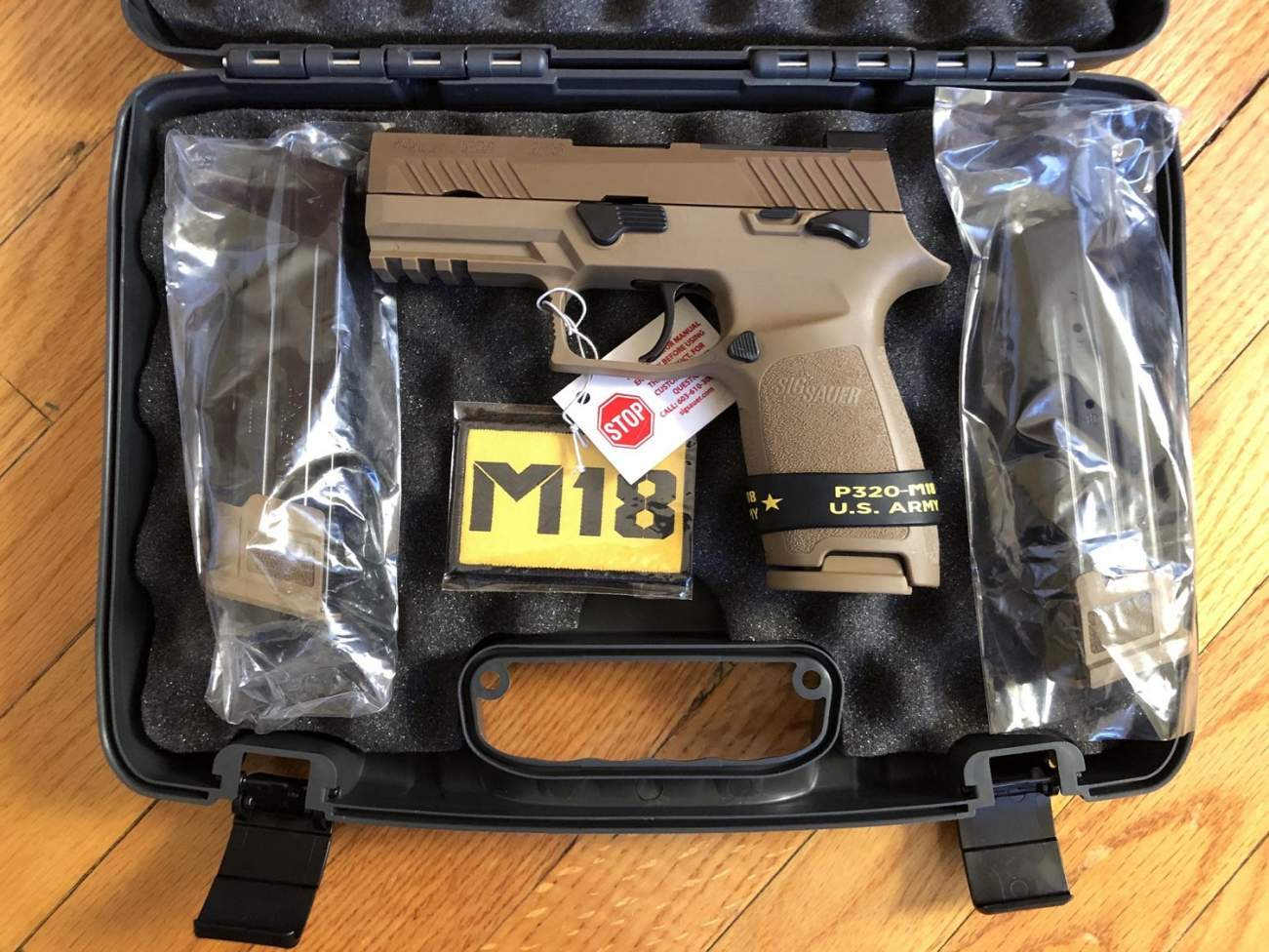 Sig Sauer's P320-M18 Is the U.S. Military's Gun of Choice. Soon You Can Find Out Why.