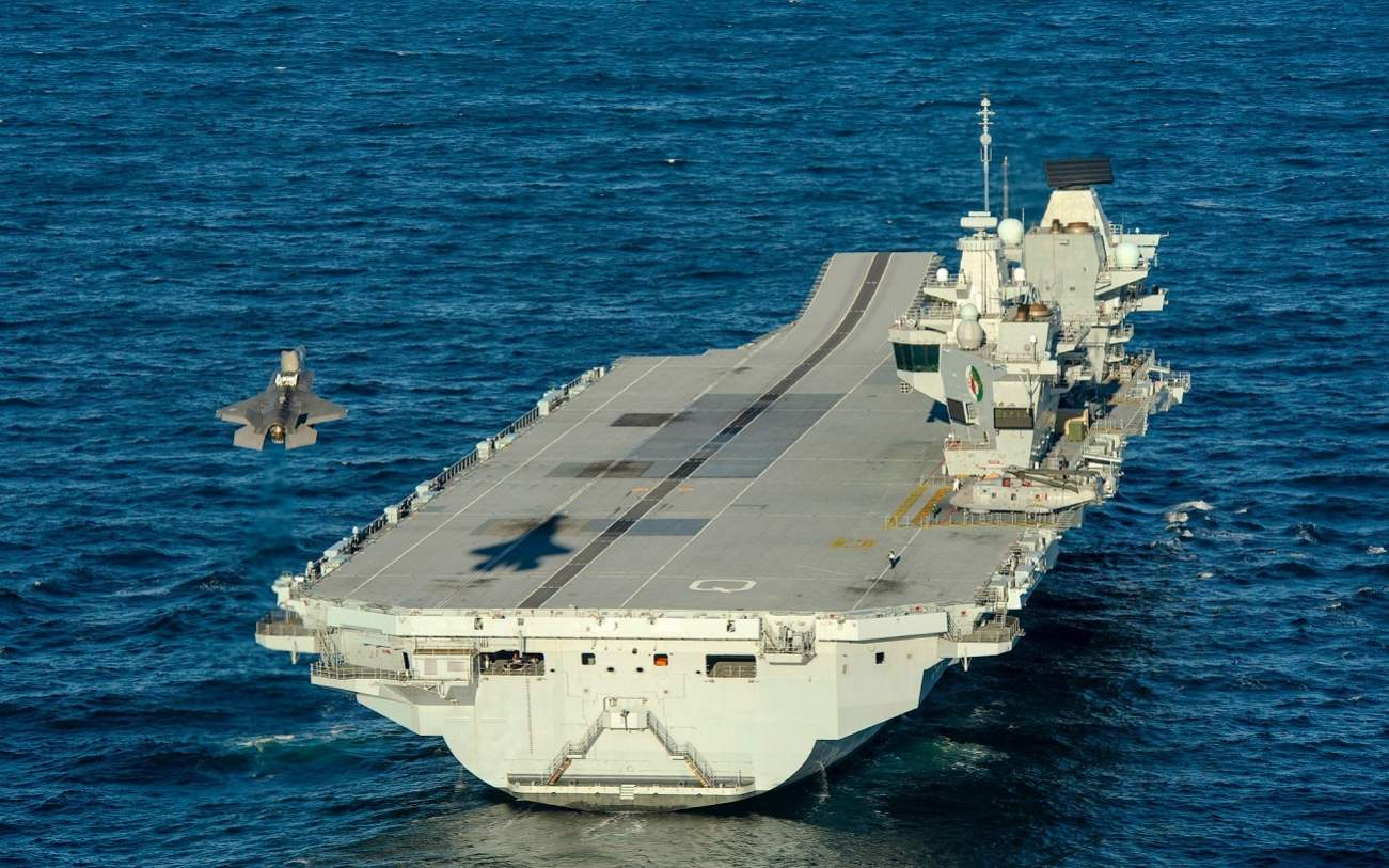 The Royal Navy's New Aircraft Carriers Are Eating the Fleet