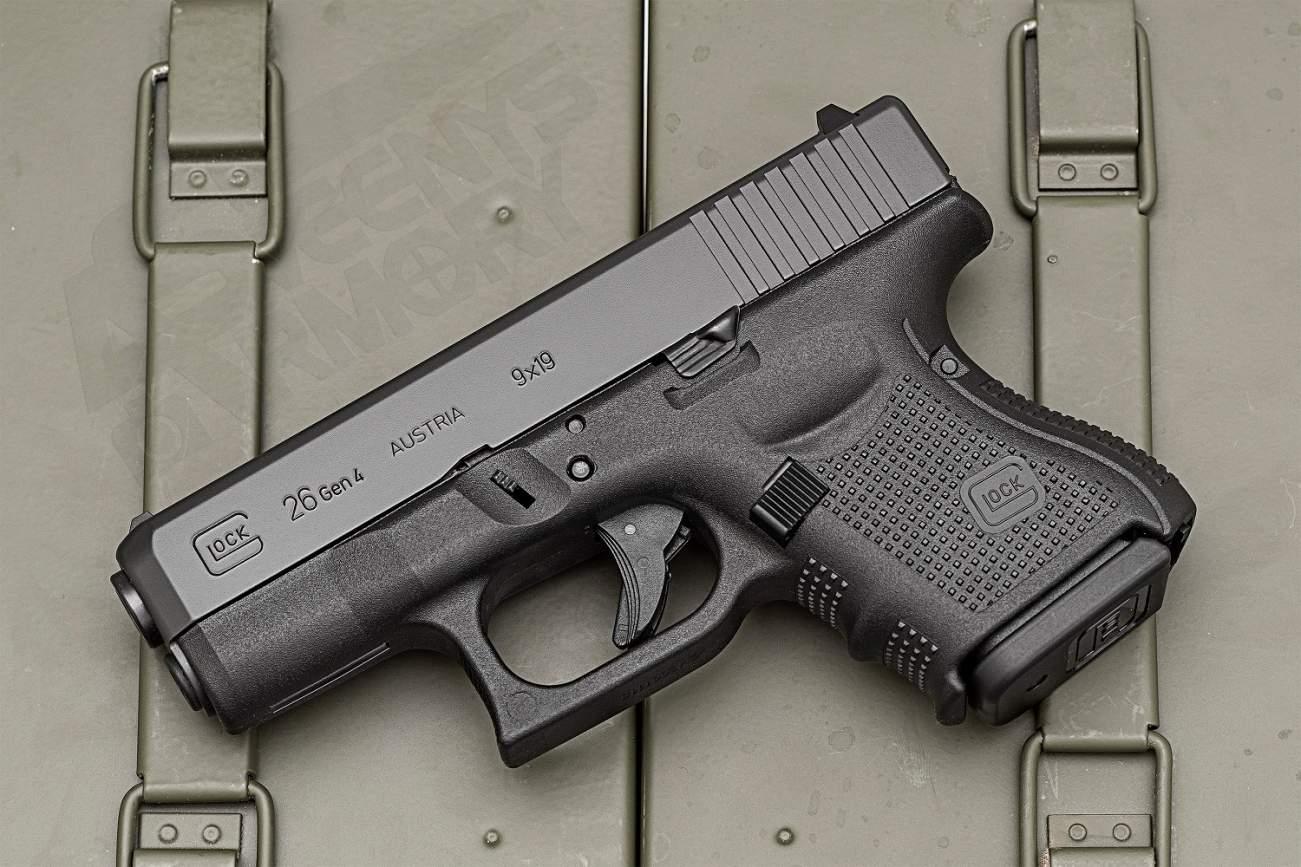 Glock's 26 Gen4 9mm Gun vs. S&W Shield M&P9 M2.0 Subcompact (Which Is Better?)