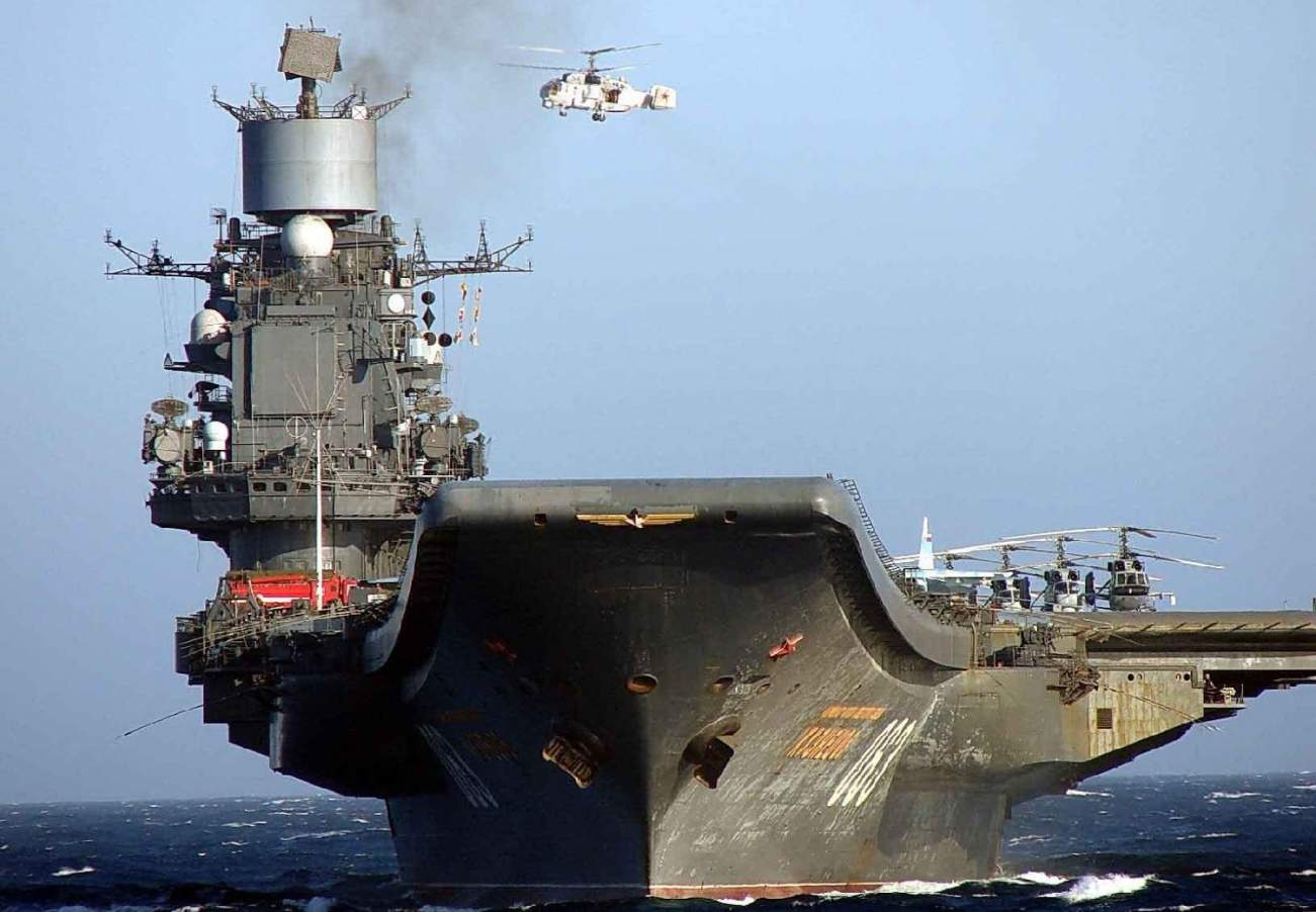 Is Russia's Only Aircraft Carrier Doomed?