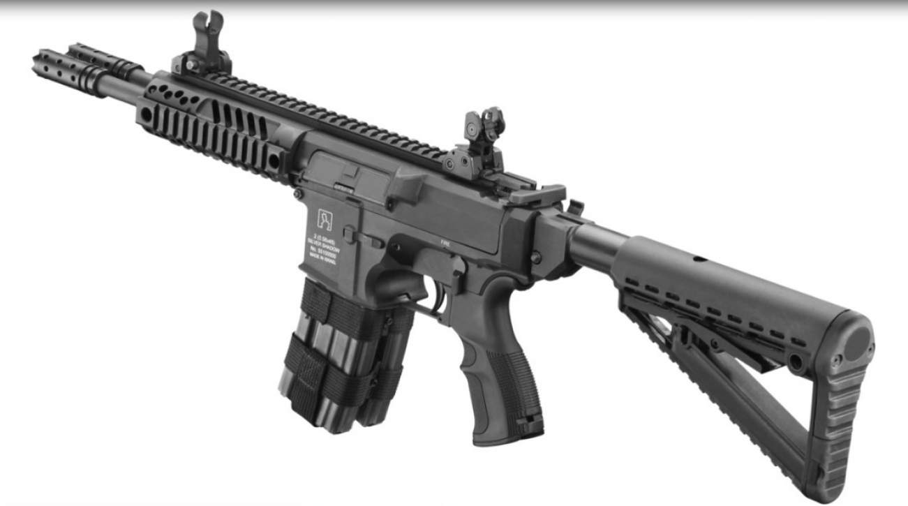 Forget the AR-15: The Gilboa DBR Snake Is Literally 2 Rifles Merged Into 1
