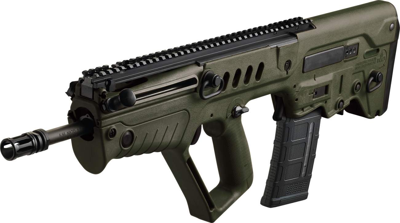 Shooting 800 Rounds Per Minute, Israel's Tavor Assault Rifle Is a Beast