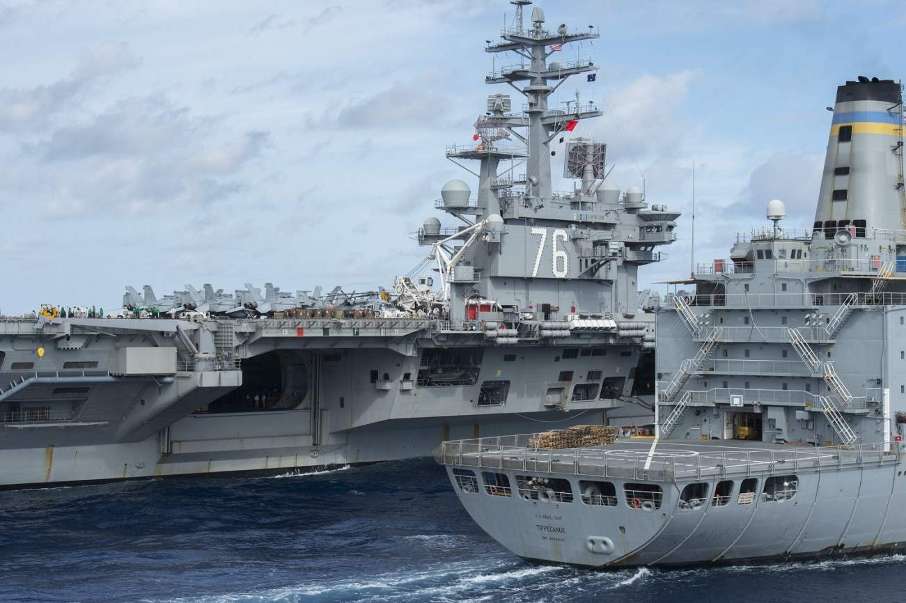 The U.S. Navy Has a Plan to Get to 335 Warships: Robots