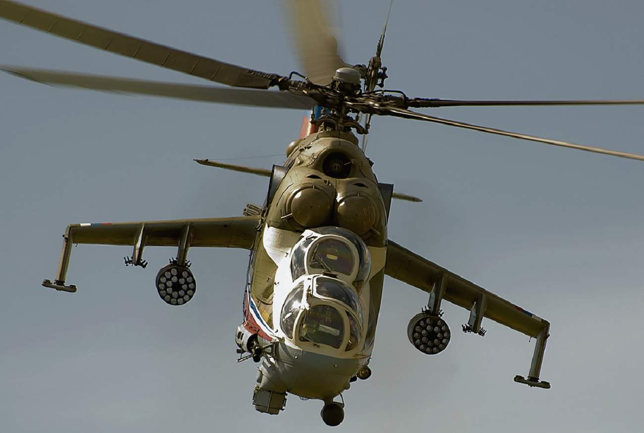 The U.S. Air Force Just Hired Russian Attack Helicopters