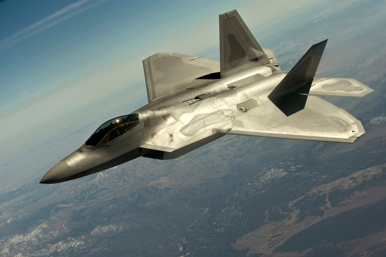 Yes, France 'Shot Down' an American F-22 Stealth Fighter