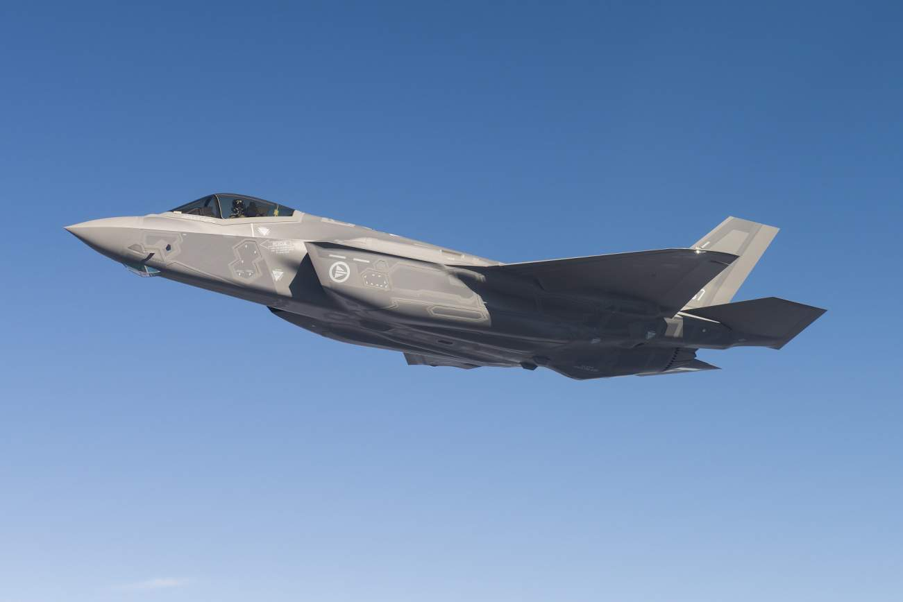 The U.S. Air Force of the Future: Hypersonic Weapons, Swarm Strikes and Stealth Fighters