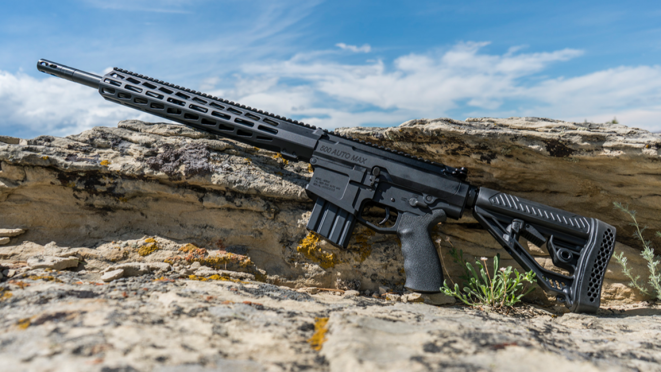 The AR-15 Is Nothing: Introducing the Deadly AR-500 (A Monster of a Rifle)