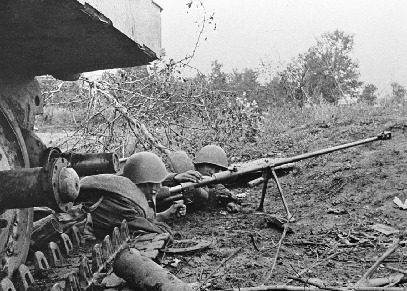 The PTRD Was The Soviet Anti-Tank Rifle That Defeated Nazi Germany
