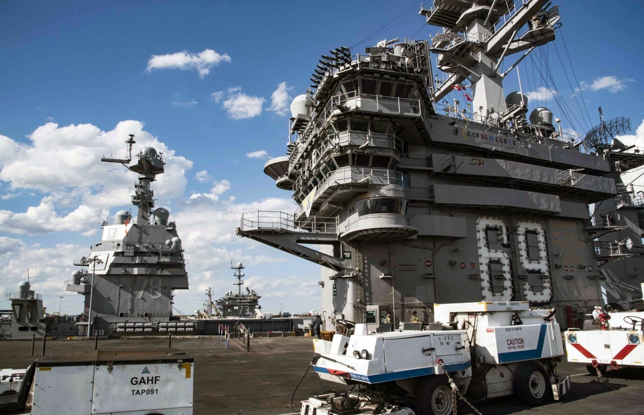 Enterprise: The Navy Is Building the Most Powerful Aircraft Carrier Ever