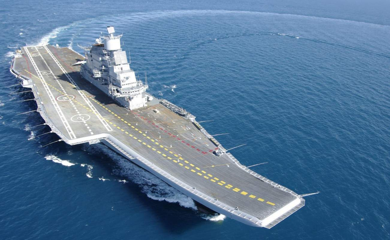 India Made a Big Mistake: Buying an Aircraft Carrier from Russia