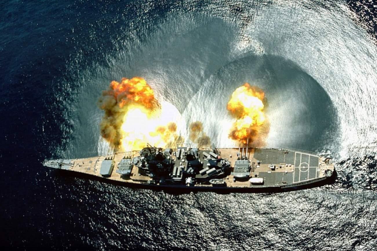 America's Lethal Iowa-Class Battleship vs  Russia's Battlecruiser