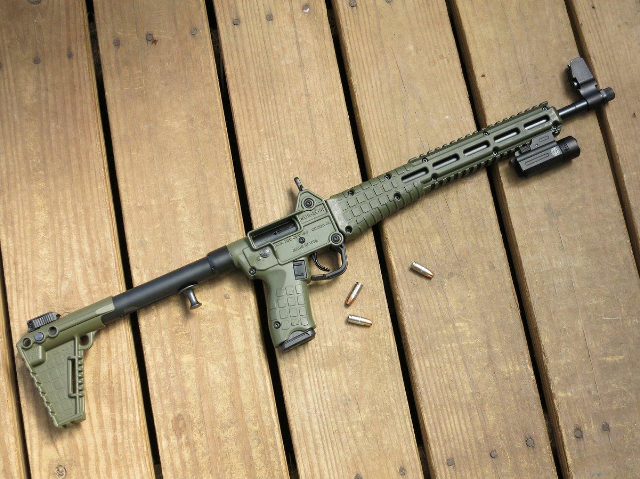 Why the Kel-Tec Sub-2000 Rifle Is Actually a Pretty Decent Gun
