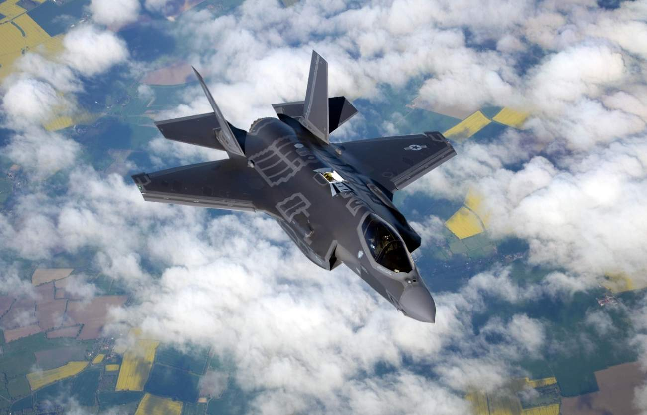Aerial Insanity: This F-35 Does Something That Is Just Out Right Nasty