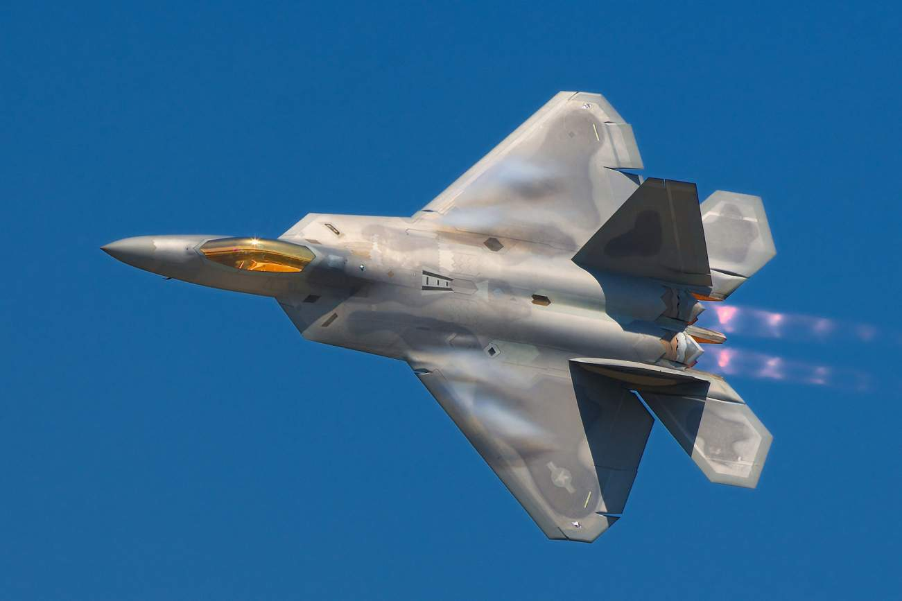 The F-22 Raptor Is the World's Best Fighter (And It Has a Secret