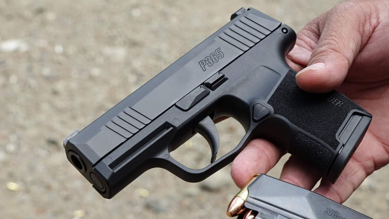 Sig Sauer's P365 Semi-Automatic: The Best Gun for Concealed-Carry?
