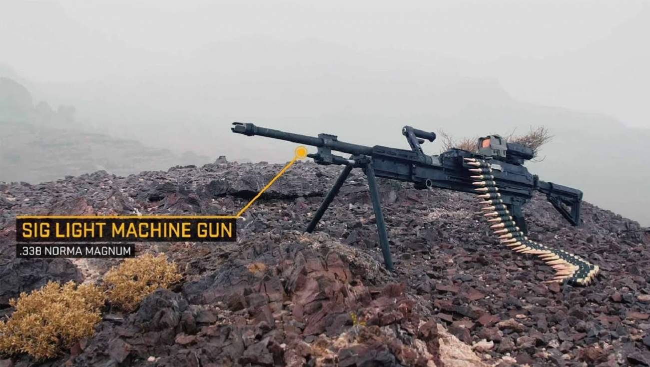 Sig Sauer's MG 338 Heavy Machine Gun: The U.S. Military's Gun of the Future?