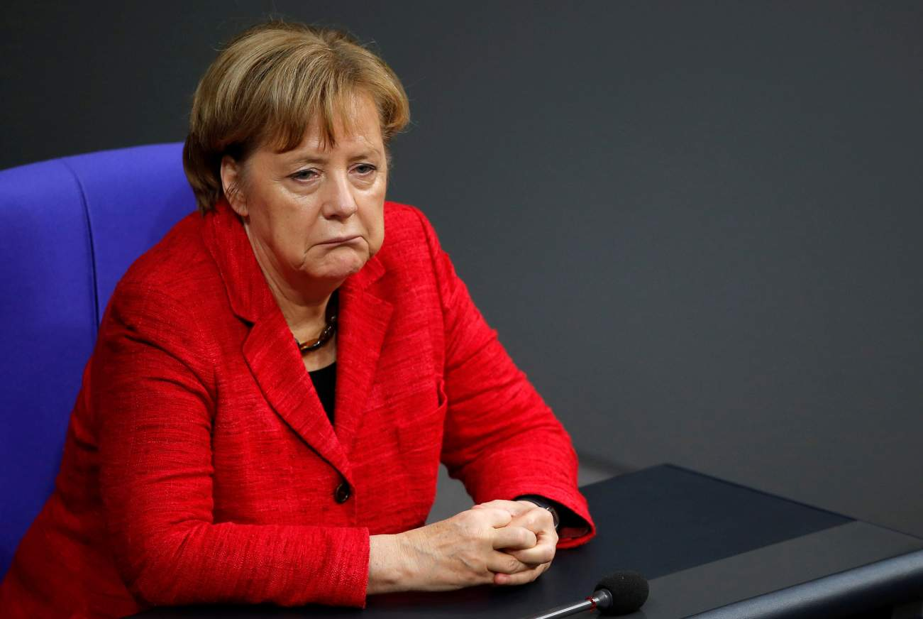 braless Angela Merkel naked photo 2017