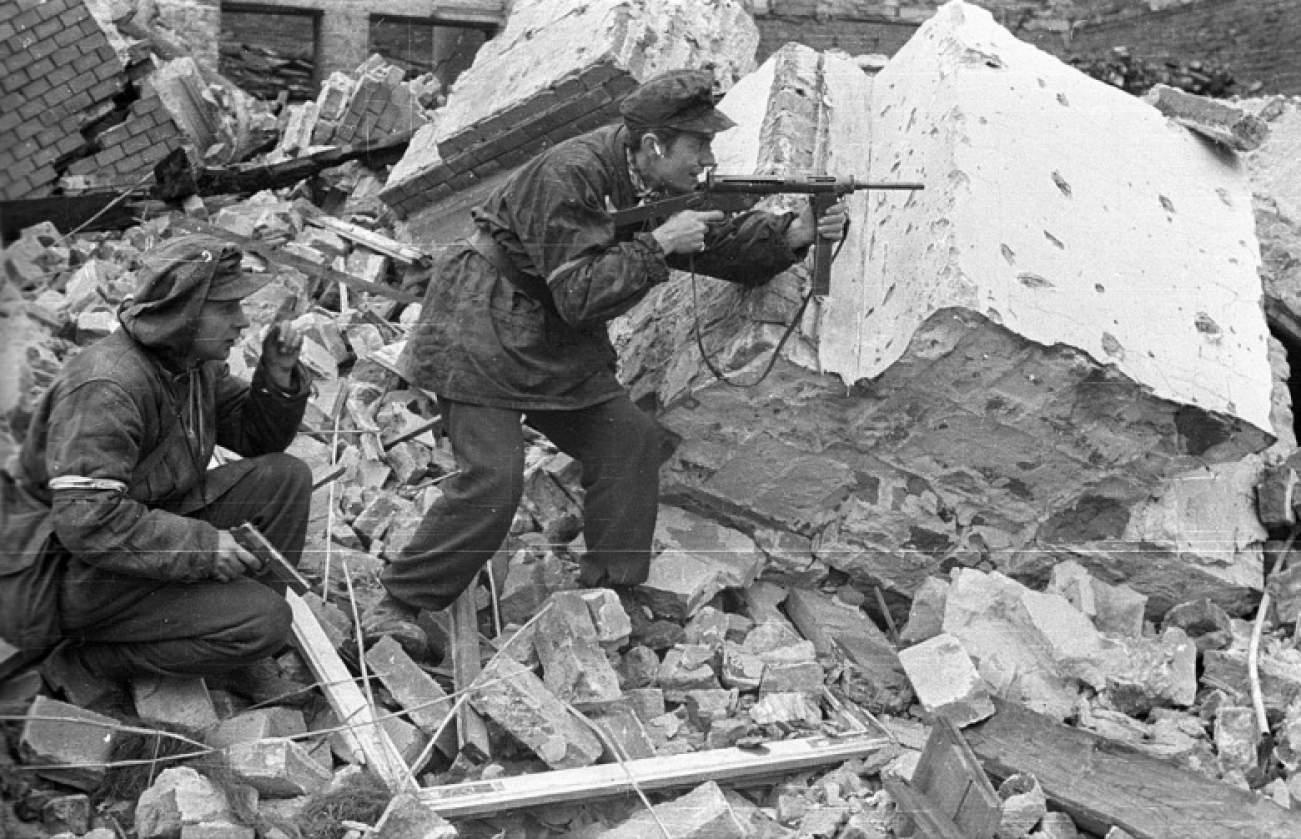 WARSAW Historical Photo