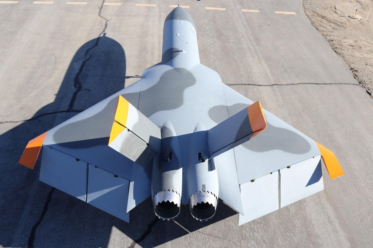 Check Out This Stealth Target Drone: It Could Be a Warplane in Disguise