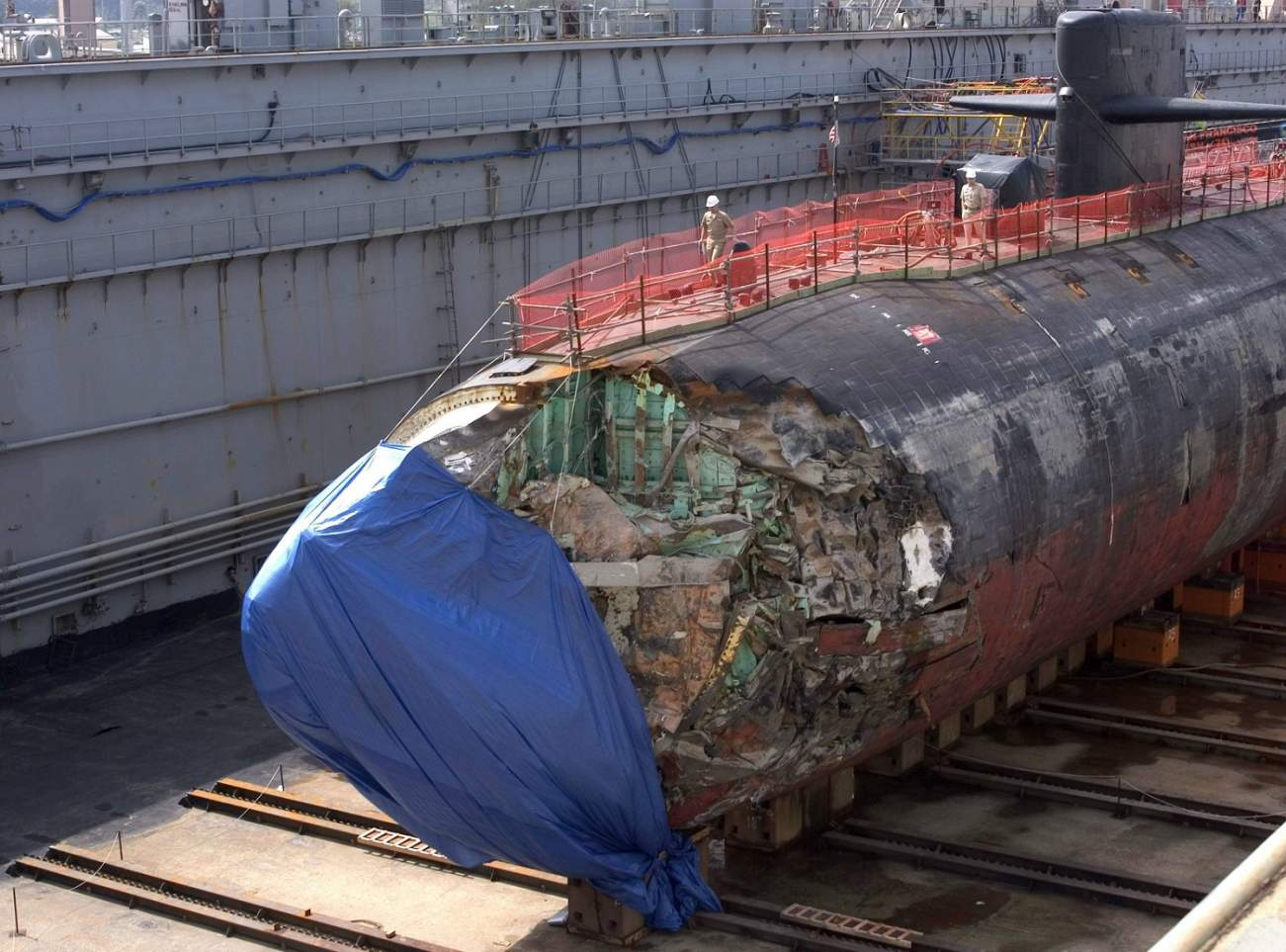 This Pictures Proves 1 Fact: It's Really Hard to Sink a U.S. Navy Submarine