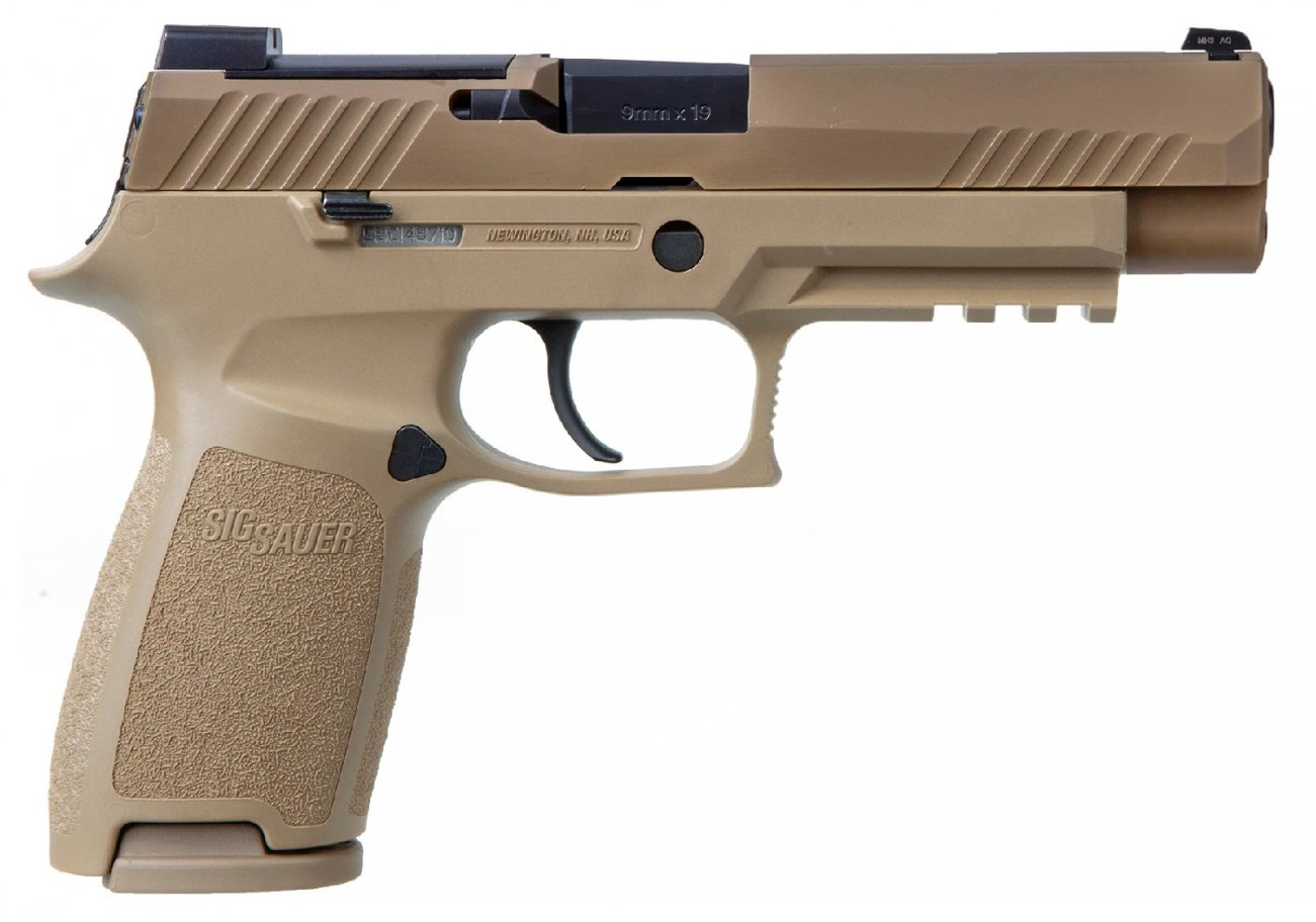 The U.S. Army Adopted the Sig Sauer P320. Can This Gun Protect Your Home?