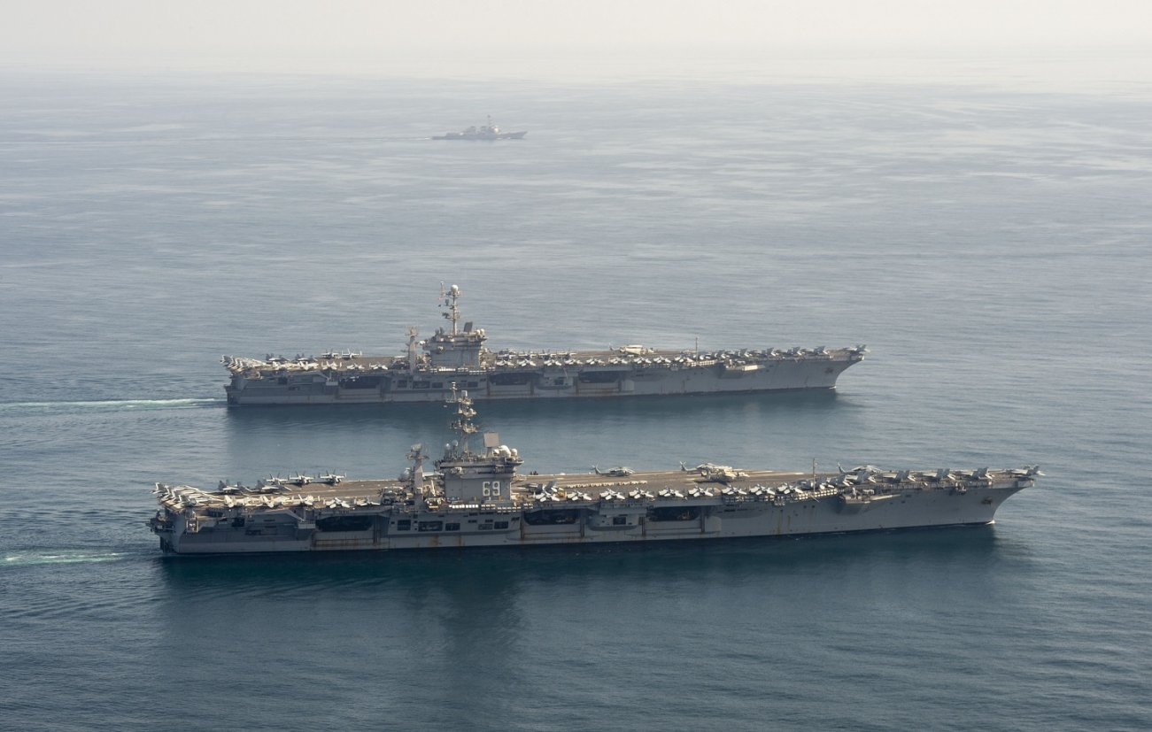 Two U.S. Navy Aircraft Carriers Are Patrolling Near Iran. Is That Too Many?