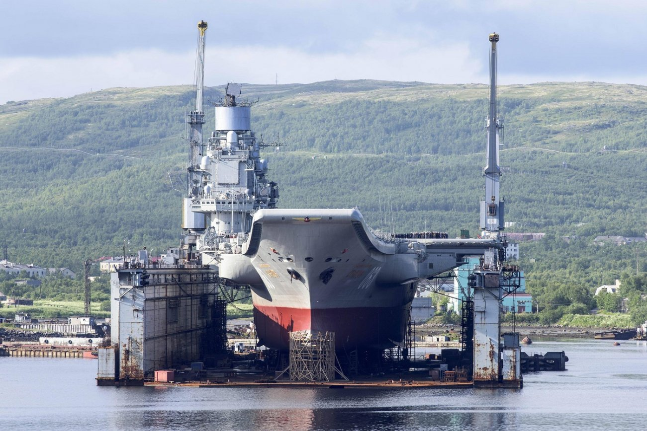 The Russian Navy Has a Big Decision to Make: Time to Give up on Aircraft Carriers?